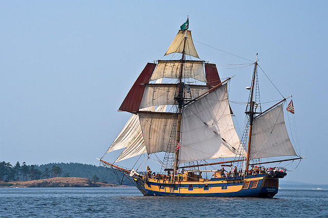 Famous Ships From 'Pirates of the Caribbean,' Docking At The Oregon