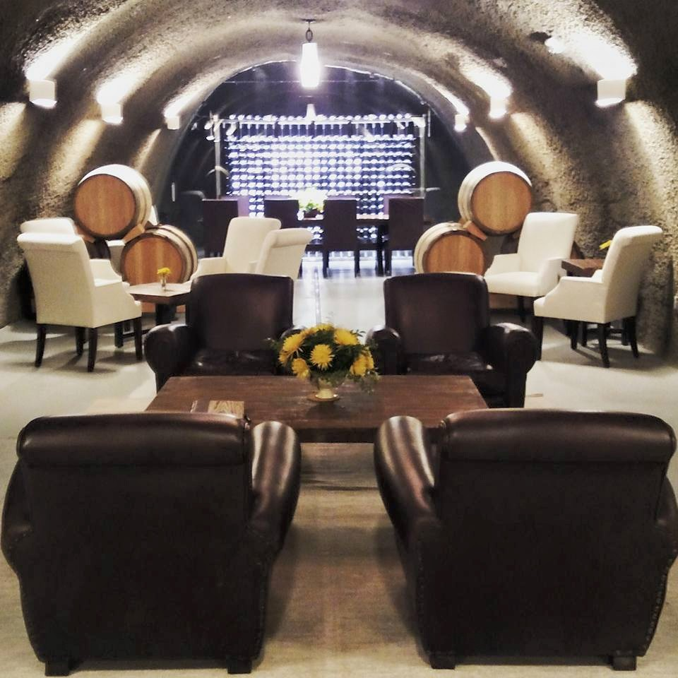 Archery Summit Winery Features An Underground Wine Cave Tour
