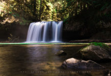 Upper Butte Creek Falls Oregon