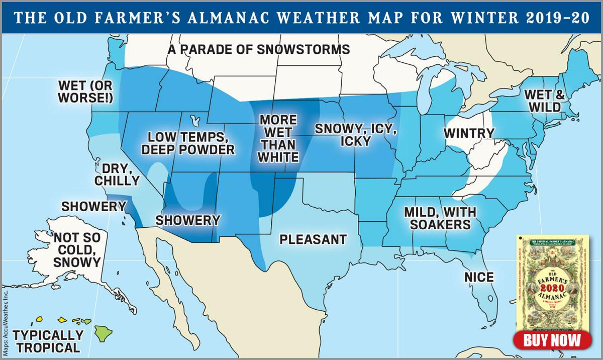 Almanac Predicts A 'Polar Coaster' Winter In CNY