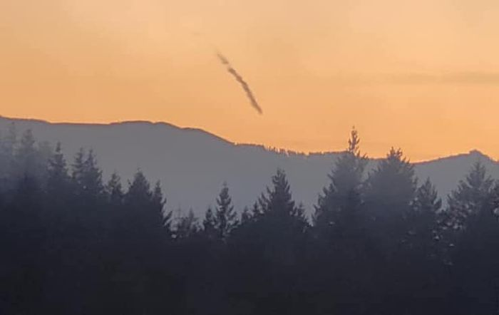 fireball sky oregon