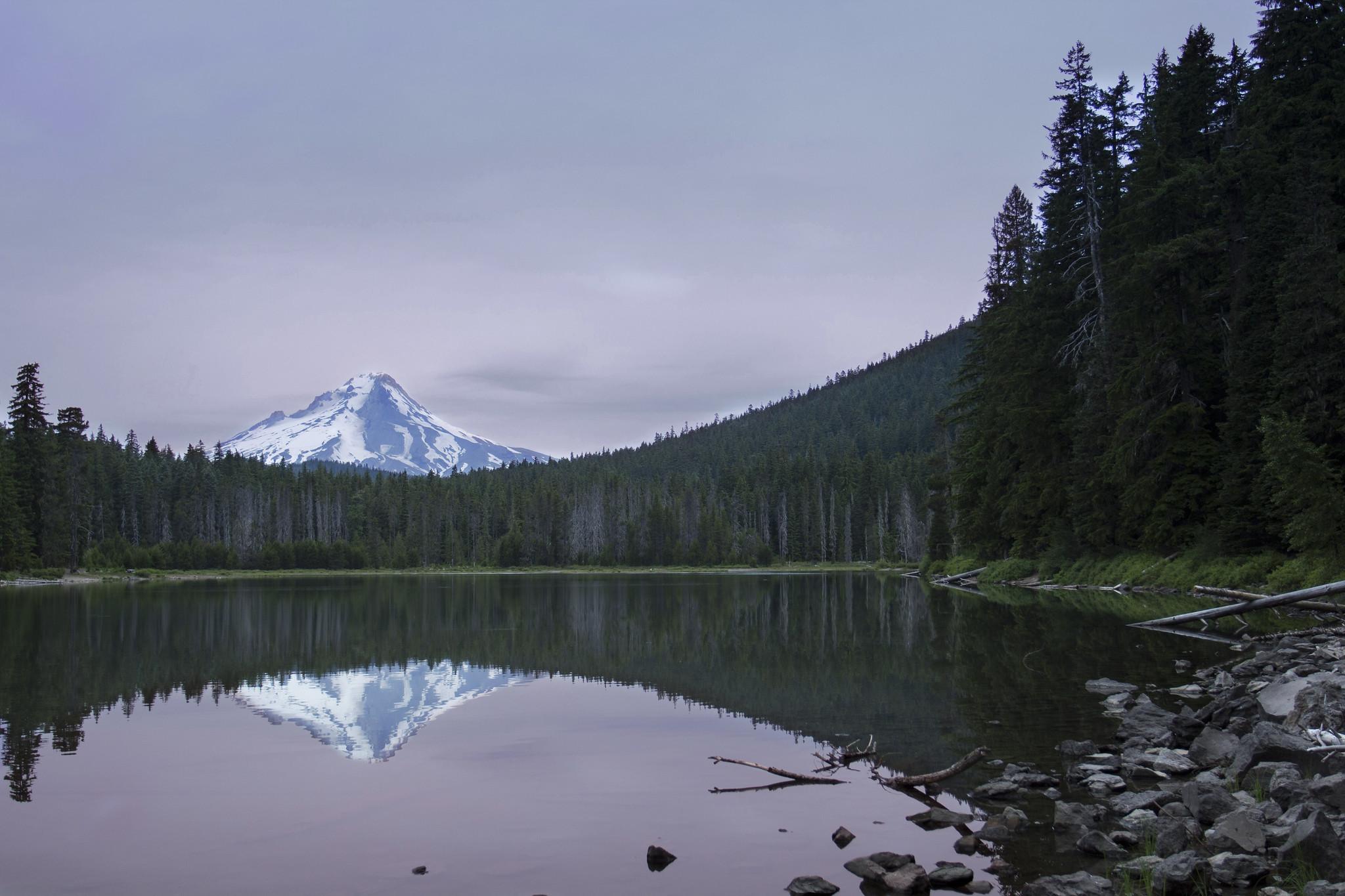 Frog Lake near Mt Hood Oregon