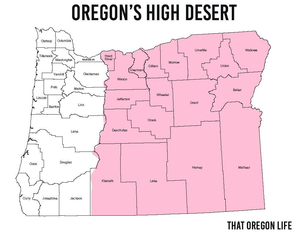 Photos Oregon's High Desert Region That Oregon Life