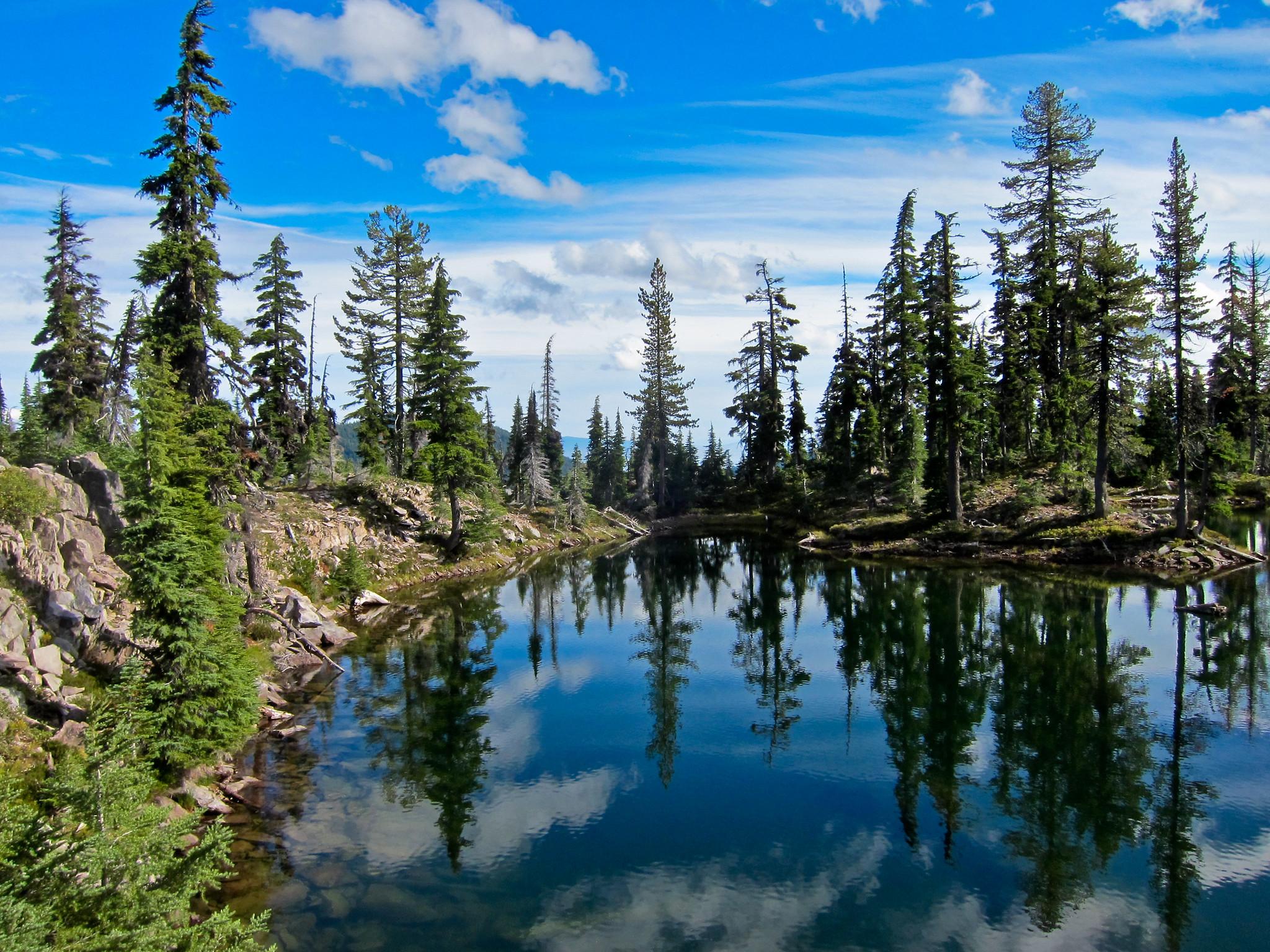 Sky Lakes Wilderness Oregon Klamath