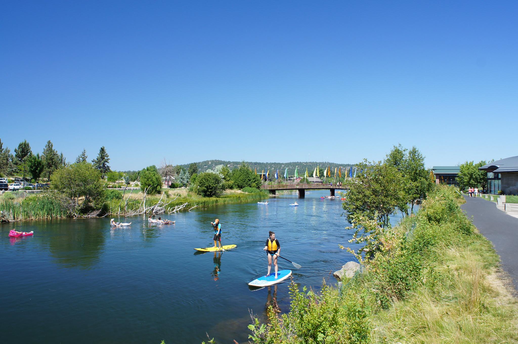 Oregon paddle