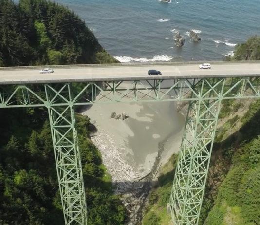 Thomas Creek Bridge Oregon Tallest Bridge