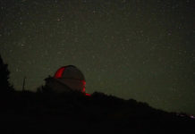 Pine Mountain Observatory near Bend Oregon