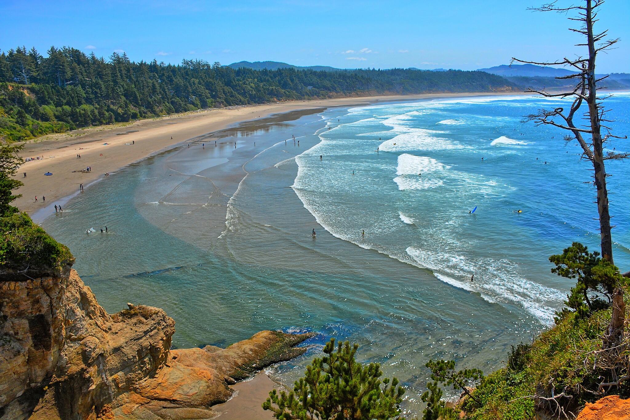 Open Oregon Beaches 2020 Covid-19 Newport