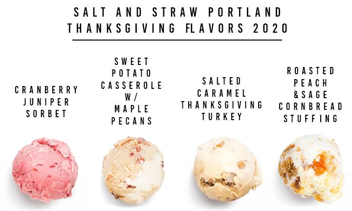 salt and straw Thanksgiving Ice Cream 2020 Portland Oregon
