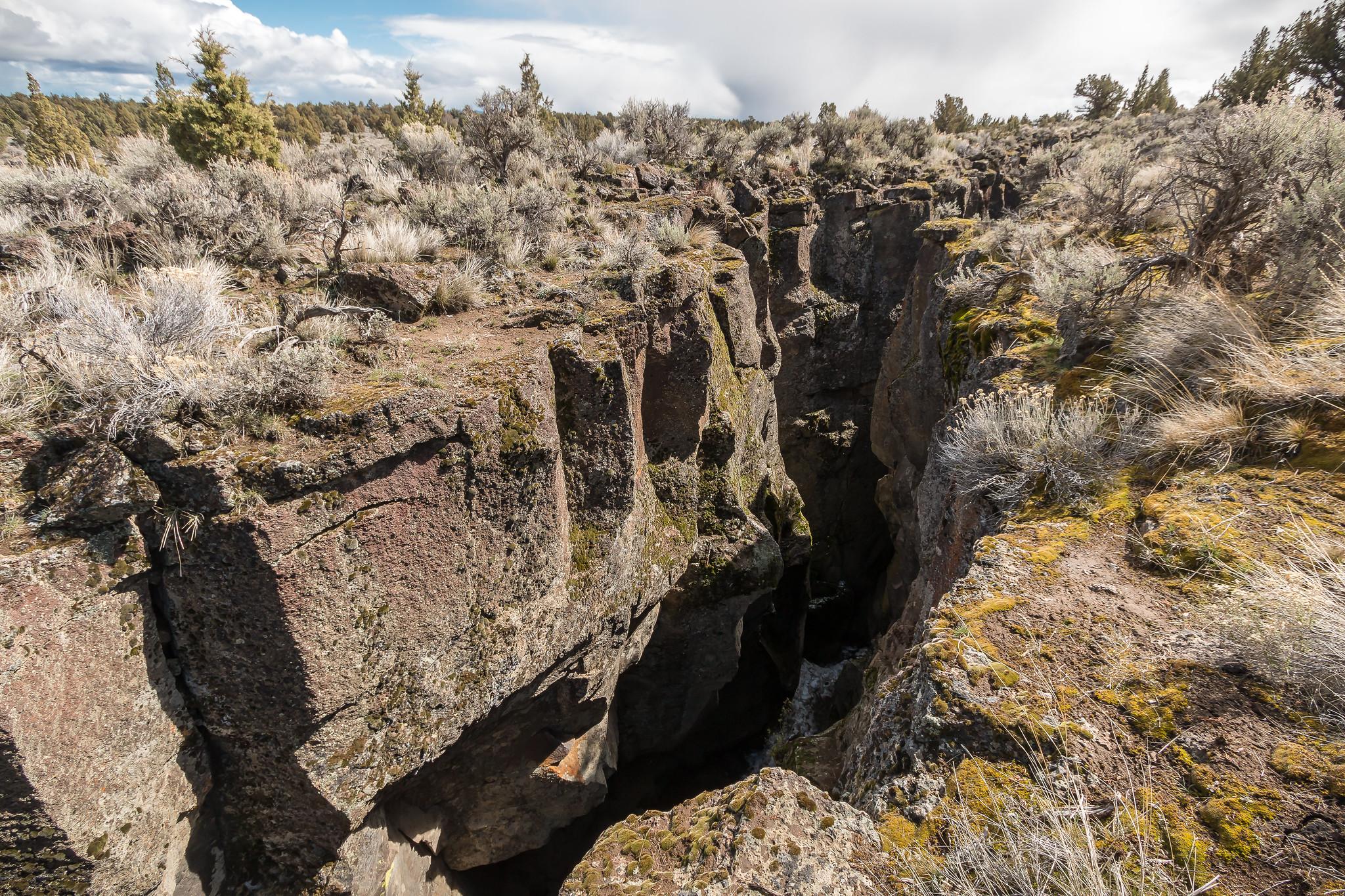 Oregon's Crack In The Ground.