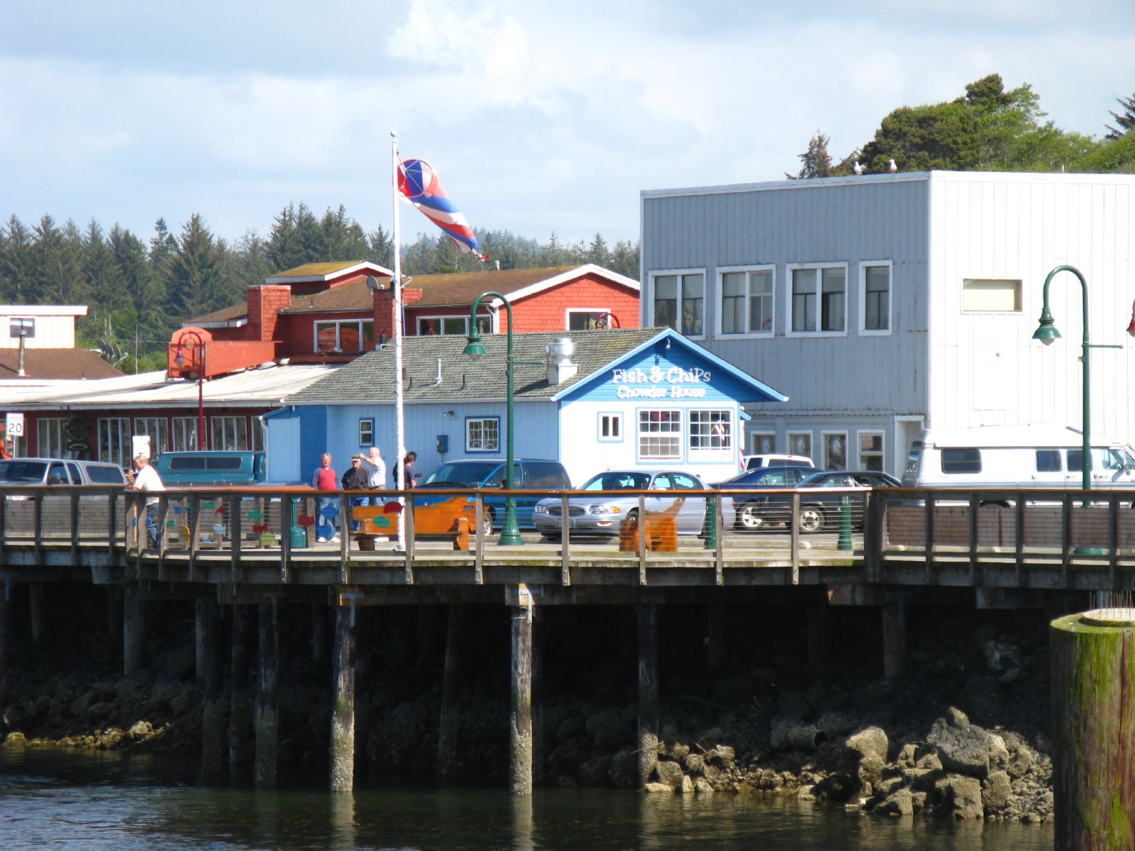 The Bandon Fish Market on the Oregon coast