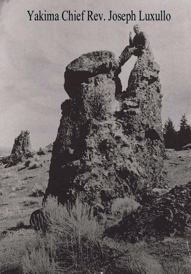 pulpit rock the dalles oregon 1900