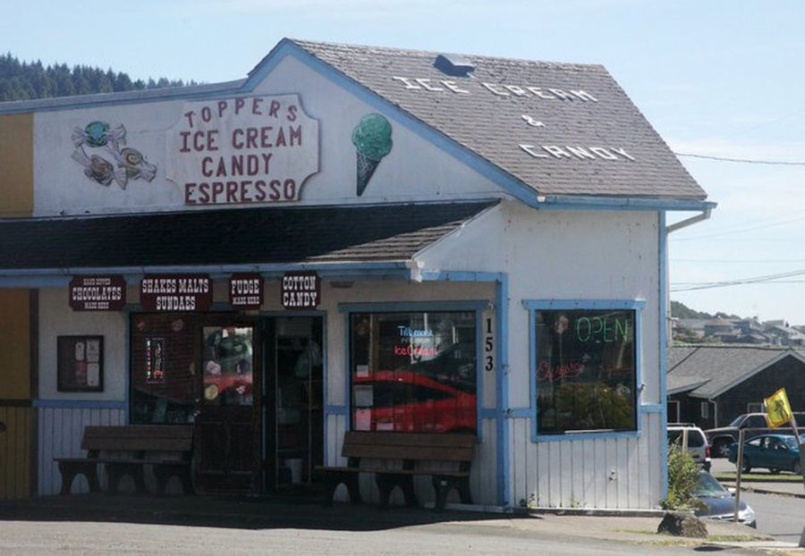 Topper's in Yachats oregon