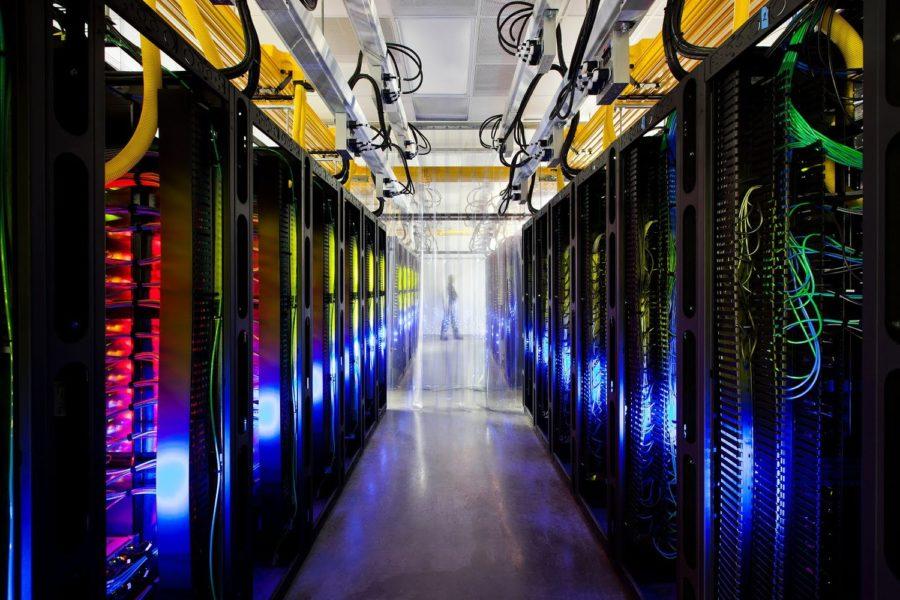 Google Data Center The Dalles Oregon server room