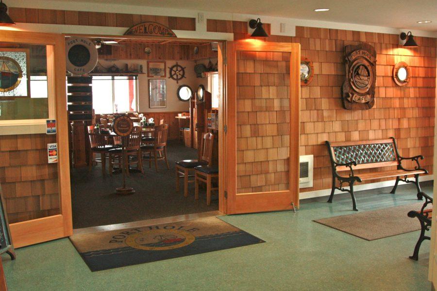 the port hole cafe entrance gold beach oregon