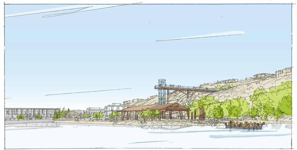 graphic of willamette falls grande ronde project