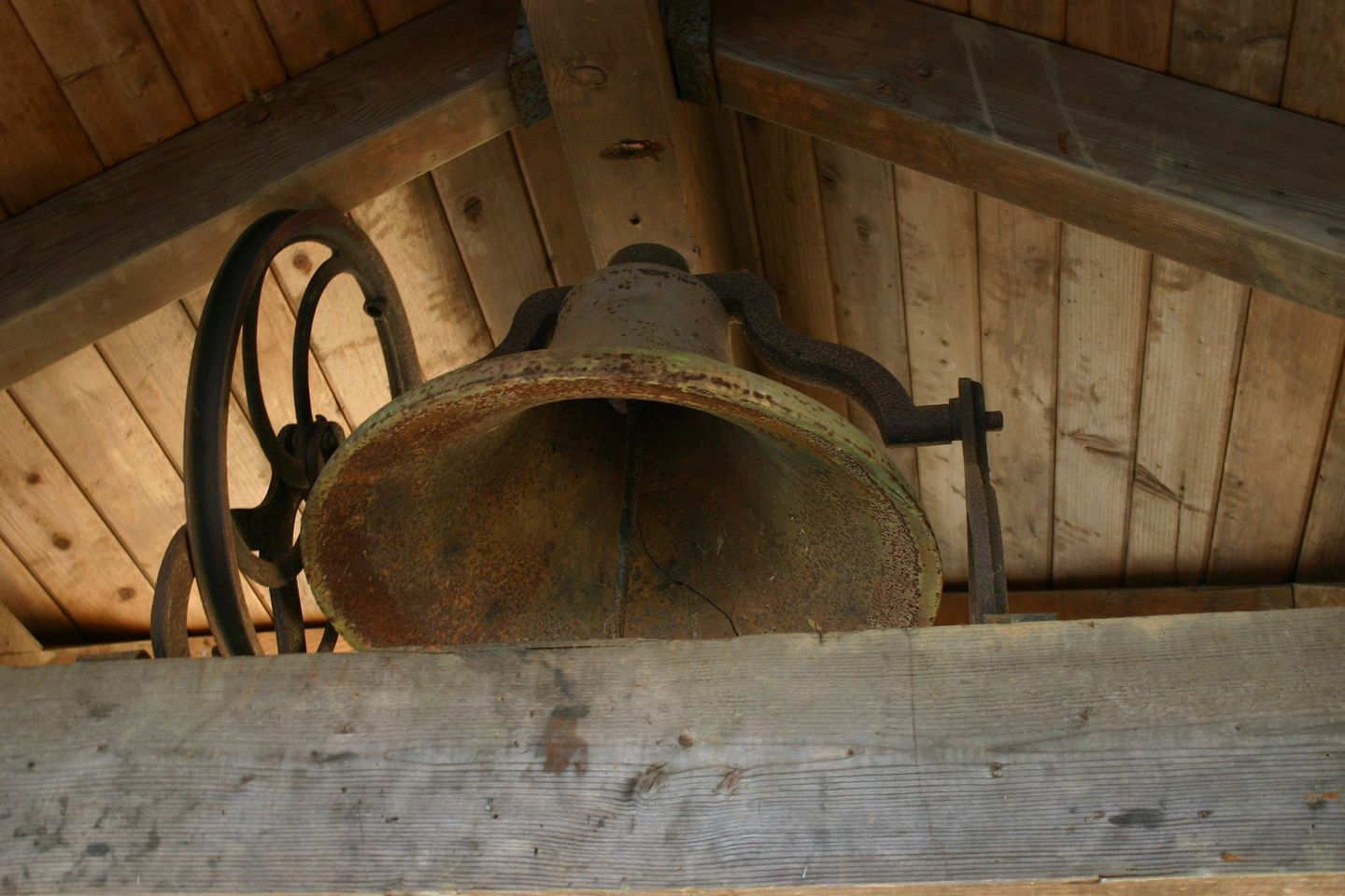 a school bell from forest dale schoolhouse gaston oregon