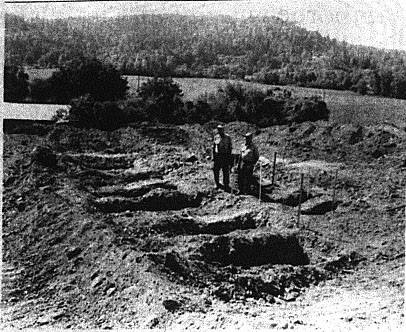 pioneer graves uncovered in scoggins dam construction